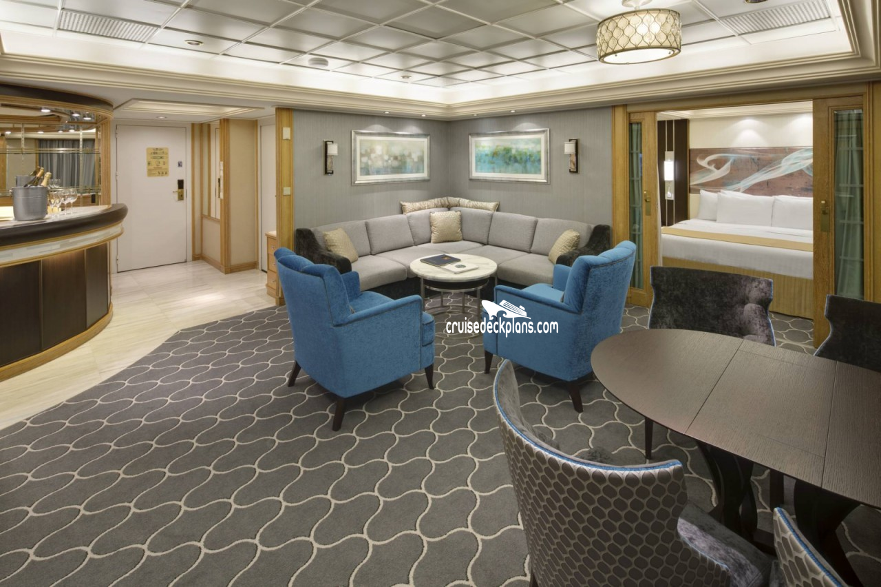 Majesty Of The Seas Royal Suite Stateroom