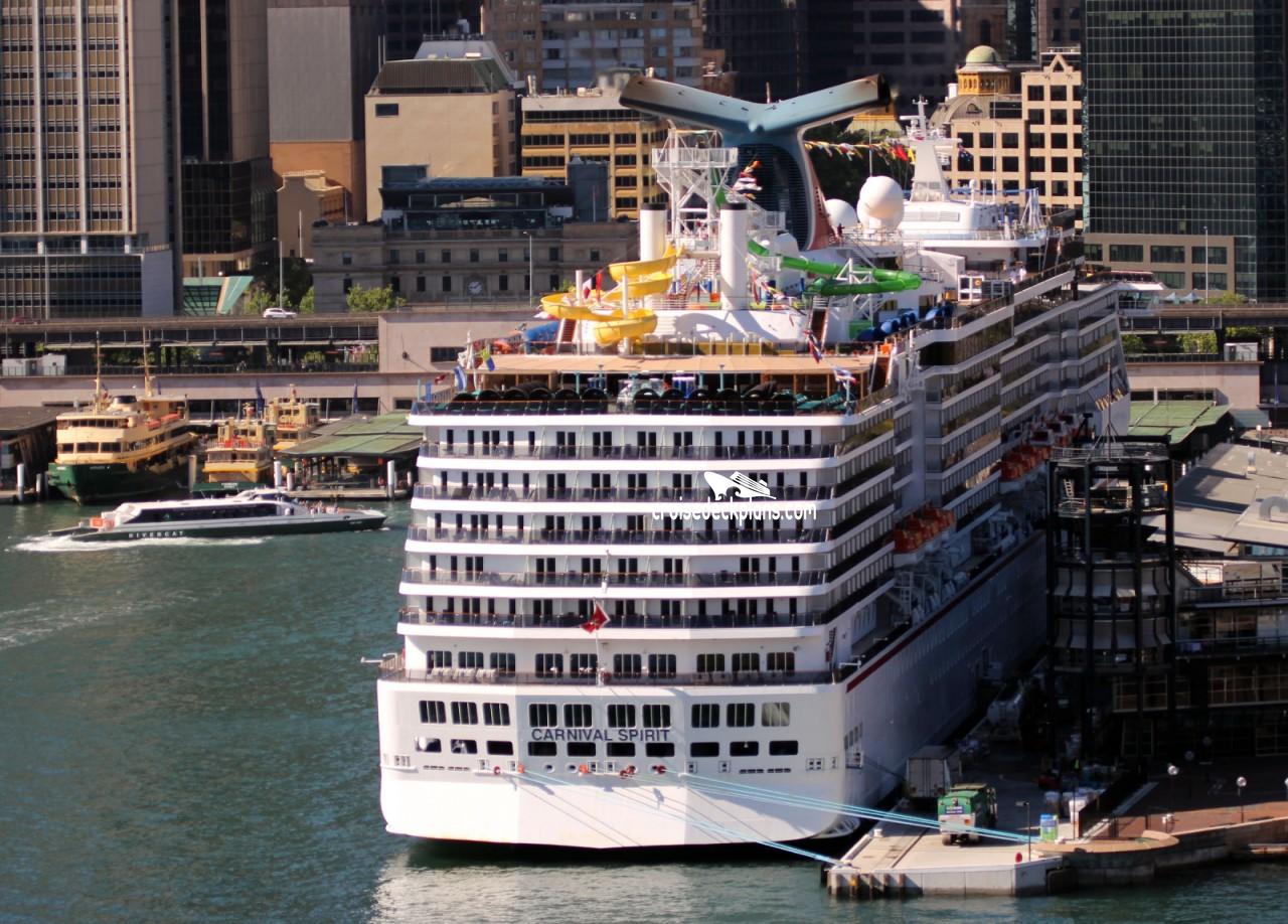 Carnival Spirit Upper Deck Plan Tour - Carnival spirit cruise ship cabins