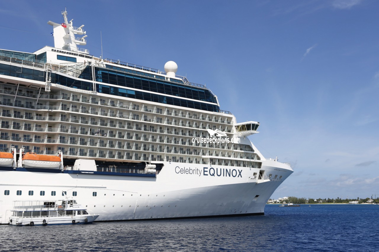 Celebrity Equinox cabins and suites | CruiseMapper