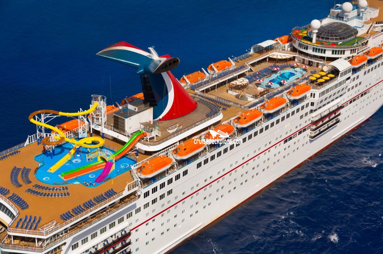 Carnival Elation Verandah Deck Plan Tour