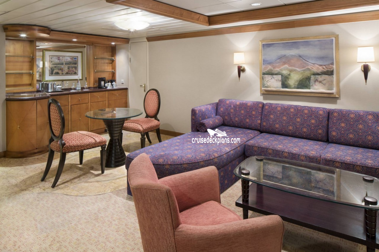 Adventure Of The Seas Owners Suite Details