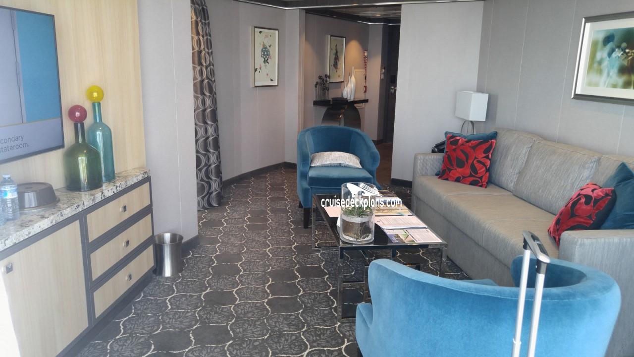 Harmony Of The Seas Aqua Theater Suite 1 Bedroom Stateroom Info