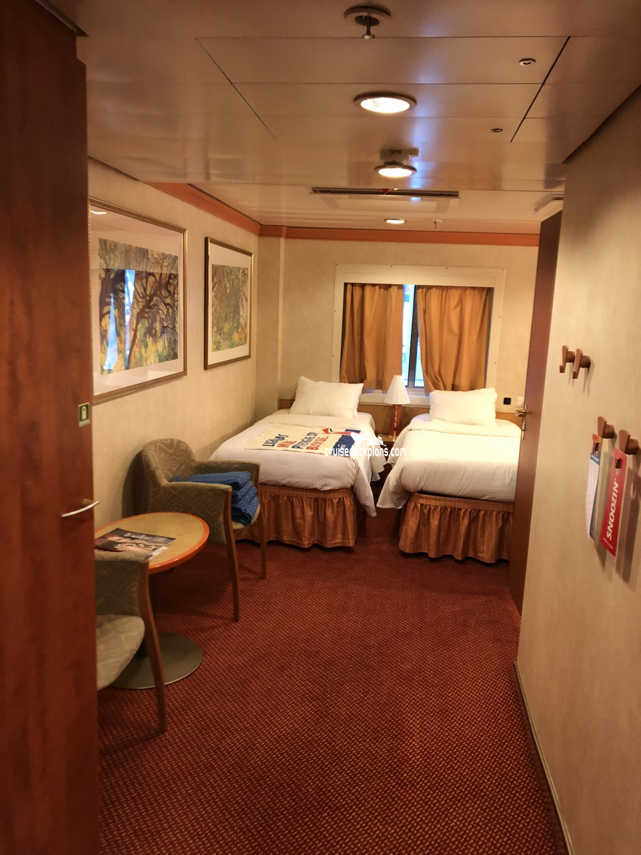 Carnival Miracle Oceanview Category