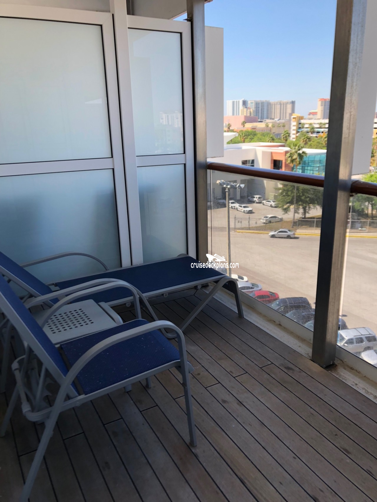 Carnival Miracle Premium Balcony Details
