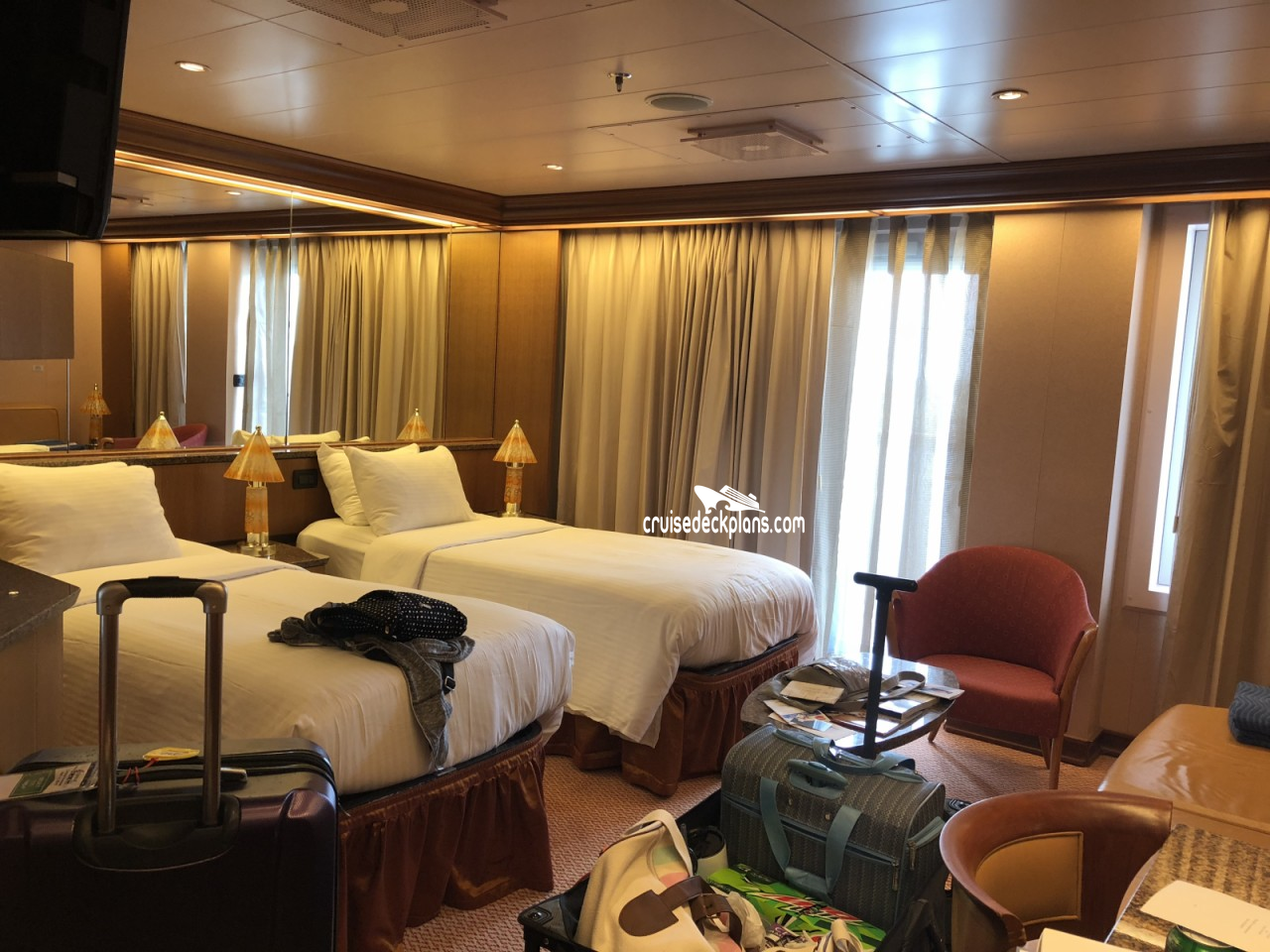 Carnival Freedom   Deck Plans, Activities & Sailings ...  Carnival Freedom Staterooms