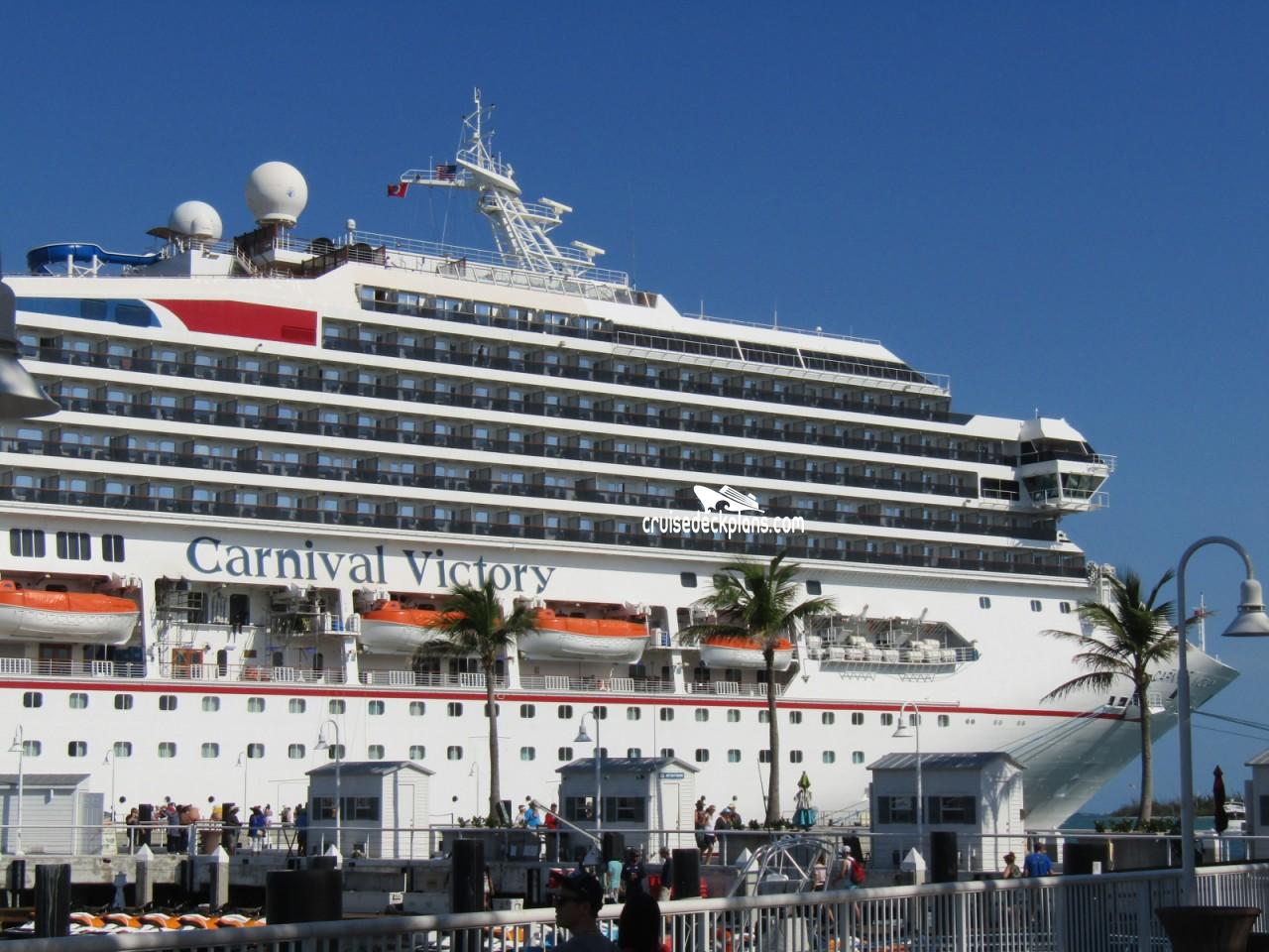 Carnival Victory Empress Deck Plan Tour