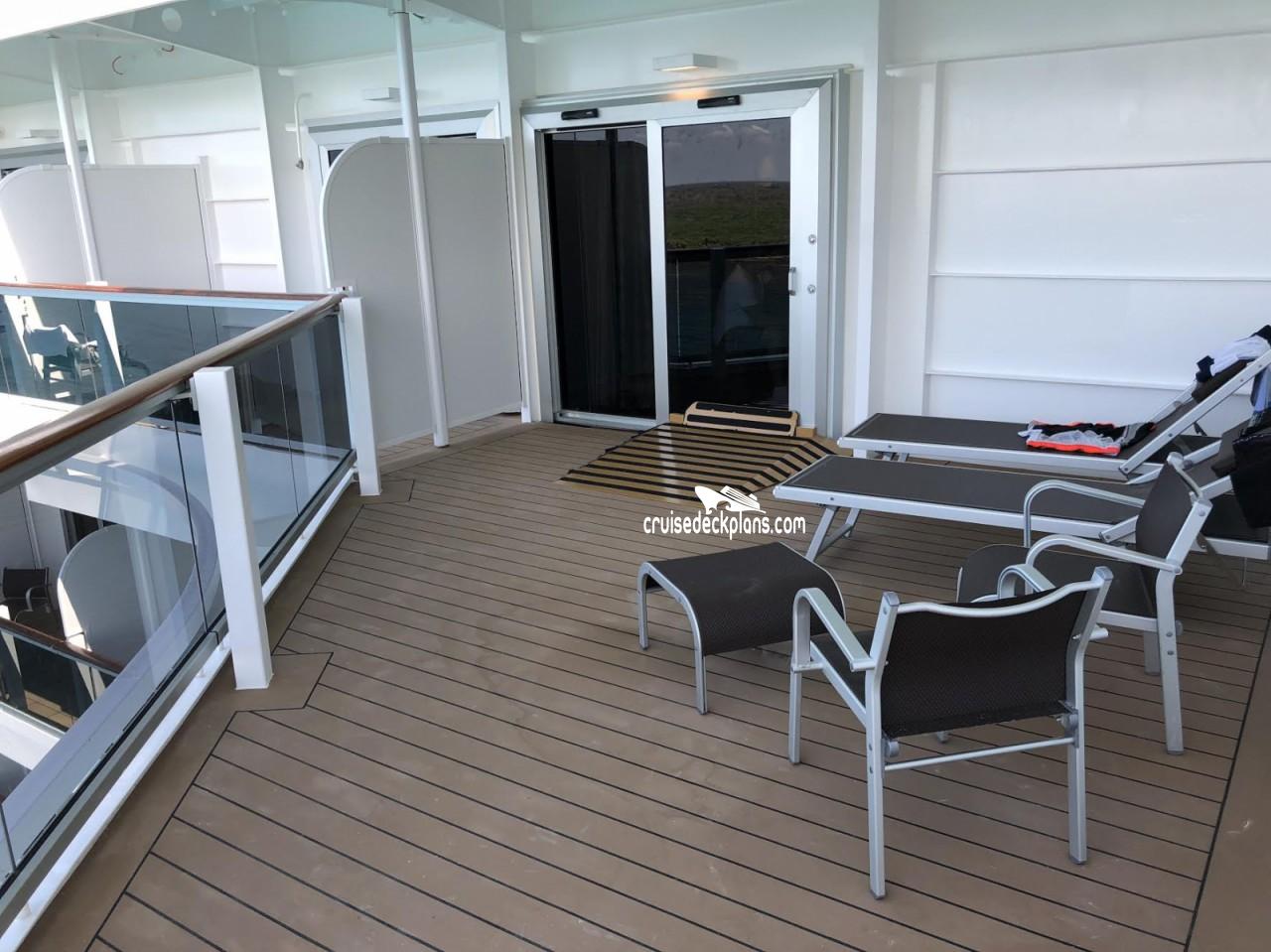 Msc Seaside Yacht Club Deluxe Details
