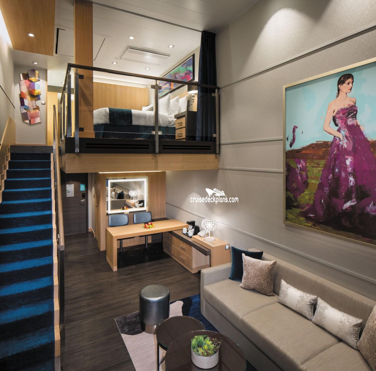 Symphony Of The Seas Crown Loft Suite Details