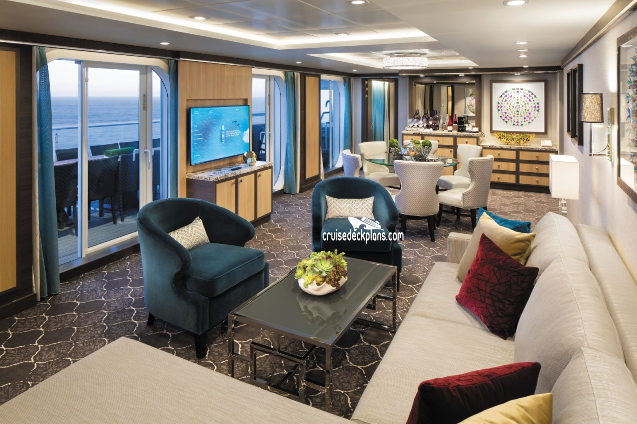 Symphony Of The Seas Presidential Suite Details