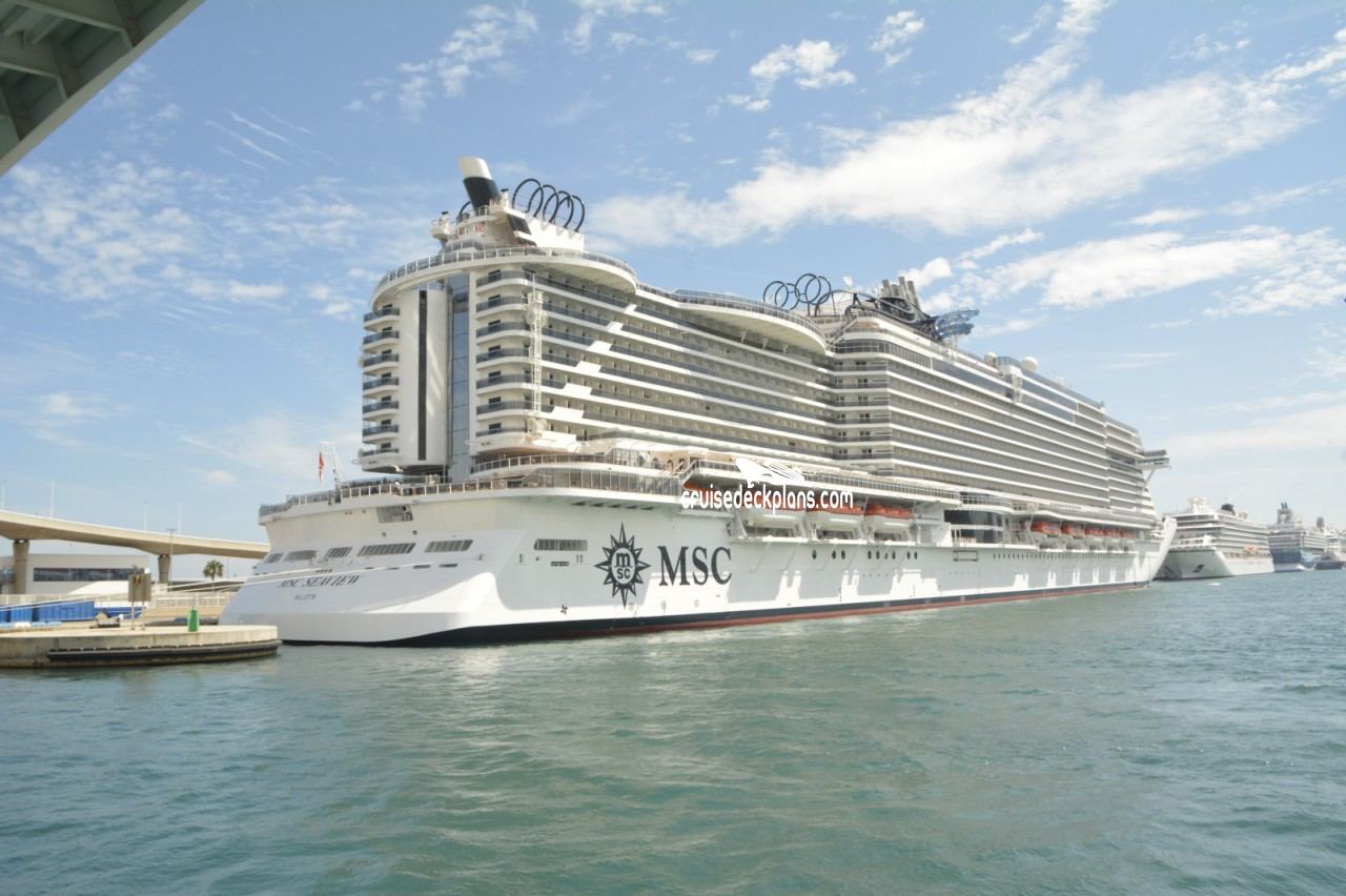 MSC Seaview Deck Plans, Diagrams, Pictures, Video
