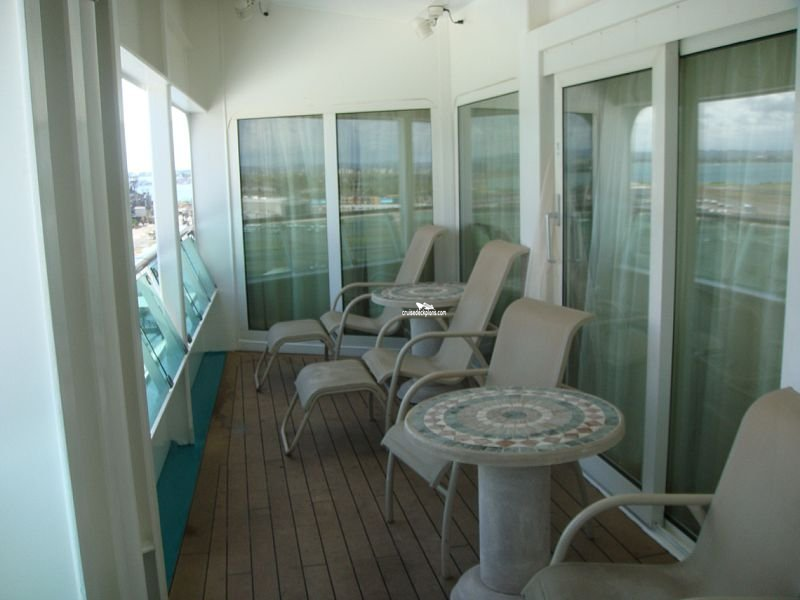 Royal caribbean adventure of the seas balcony cabins for Balcony upgrade