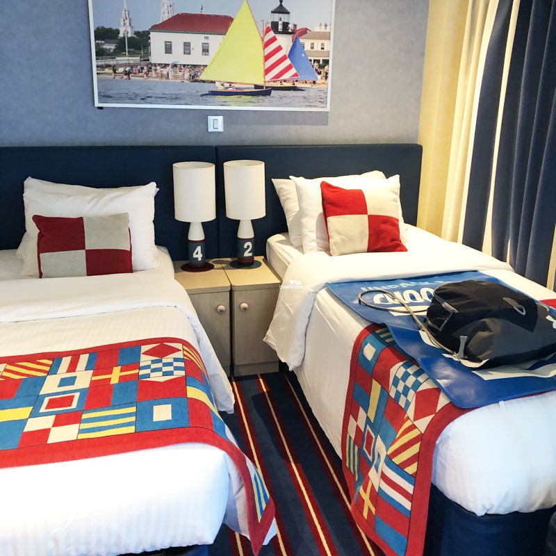Carnival Vista Family Harbor Cove Suite Stateroom Details