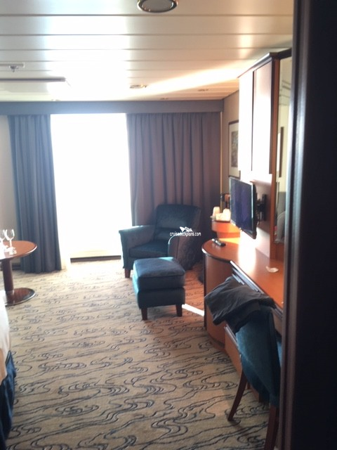 Click to zoom Junior Suite Cabin Picture