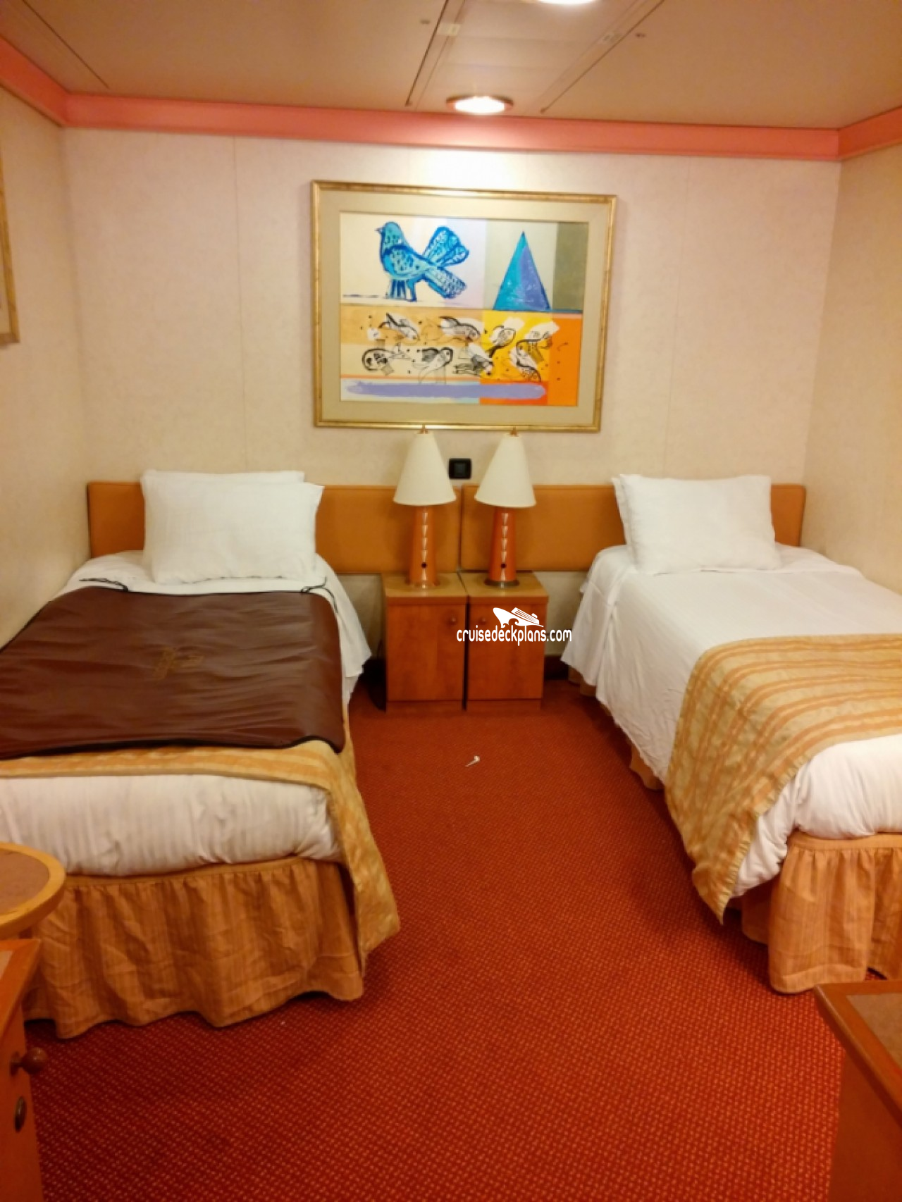 Carnival Glory Interior Stateroom Details
