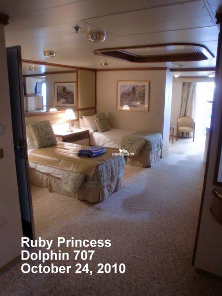 Ruby Princess Mini Suite Balcony Details