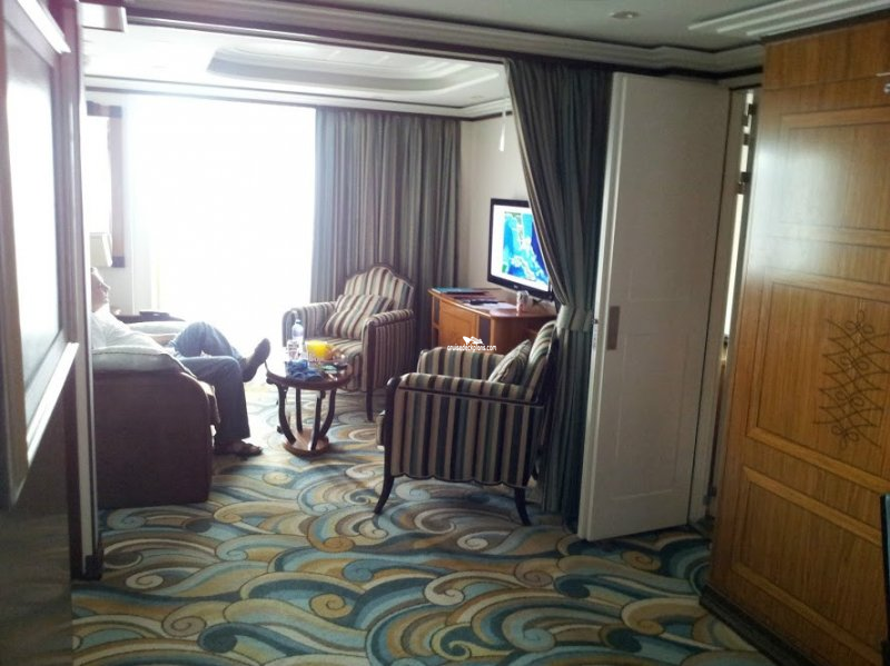 Disney Dream Concierge Bedroom Suite Category