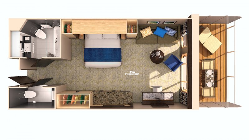 Ovation Of The Seas Family Junior Suite Category