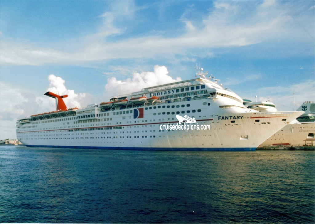 Carnival Fantasy Deck Plans Diagrams Pictures Video