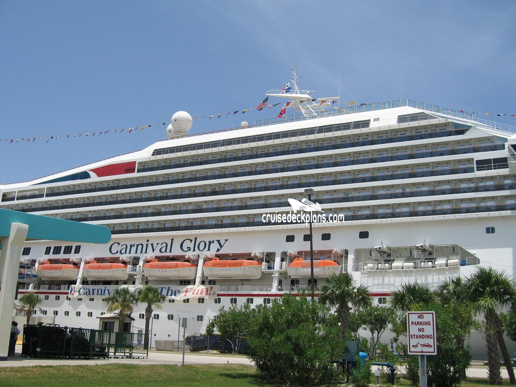 Carnival Glory Riviera Deck Plan Tour