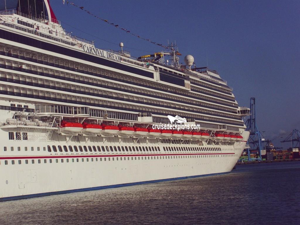 Carnival Dream Empress Deck Plan Tour