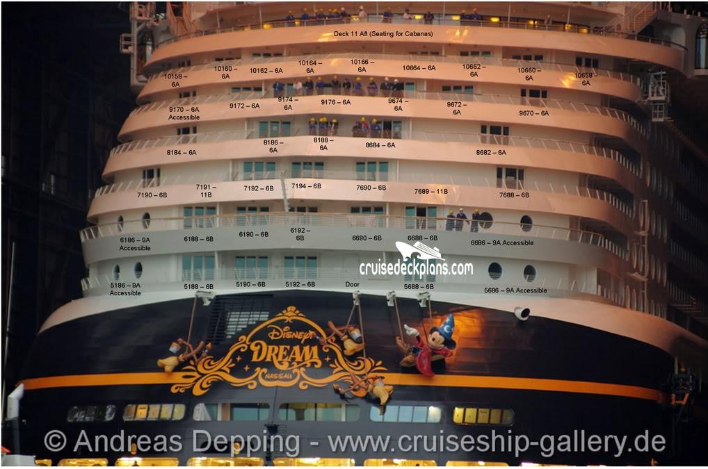 Disney Dream Deck 9 Deck Plan Tour