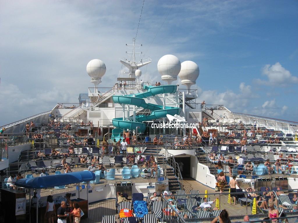 Carnival Liberty Upper Deck Plan Tour