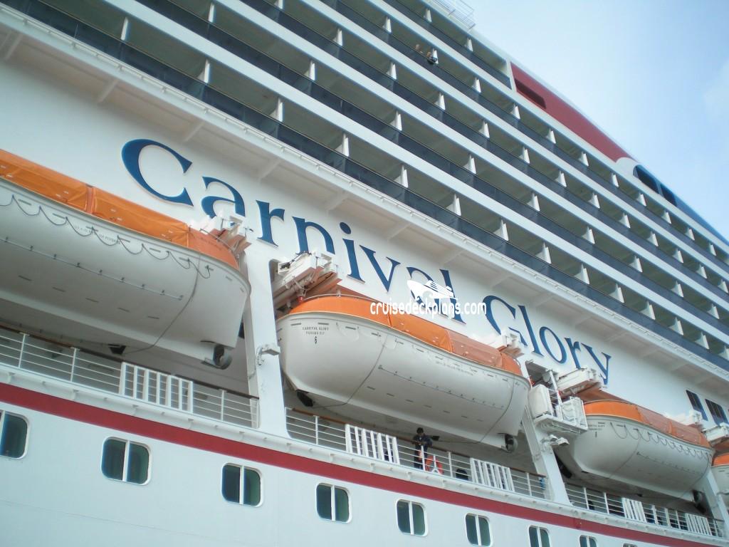 Carnival Glory Empress Deck Plan Tour