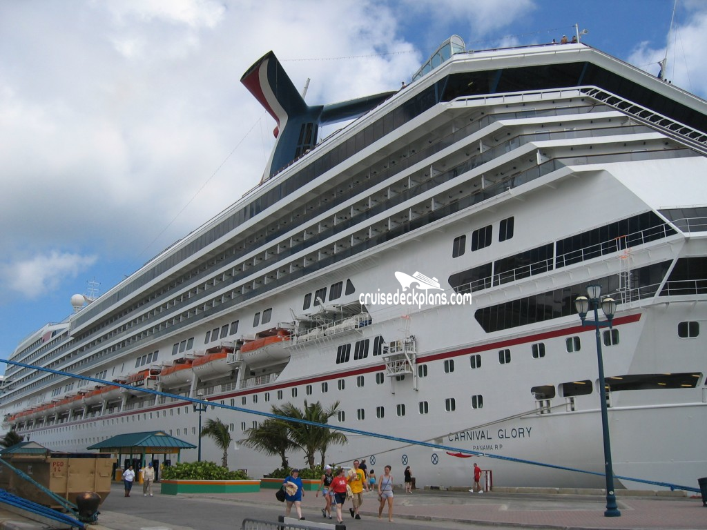 Carnival Glory Deck Plans - Cabin Diagrams - Pictures