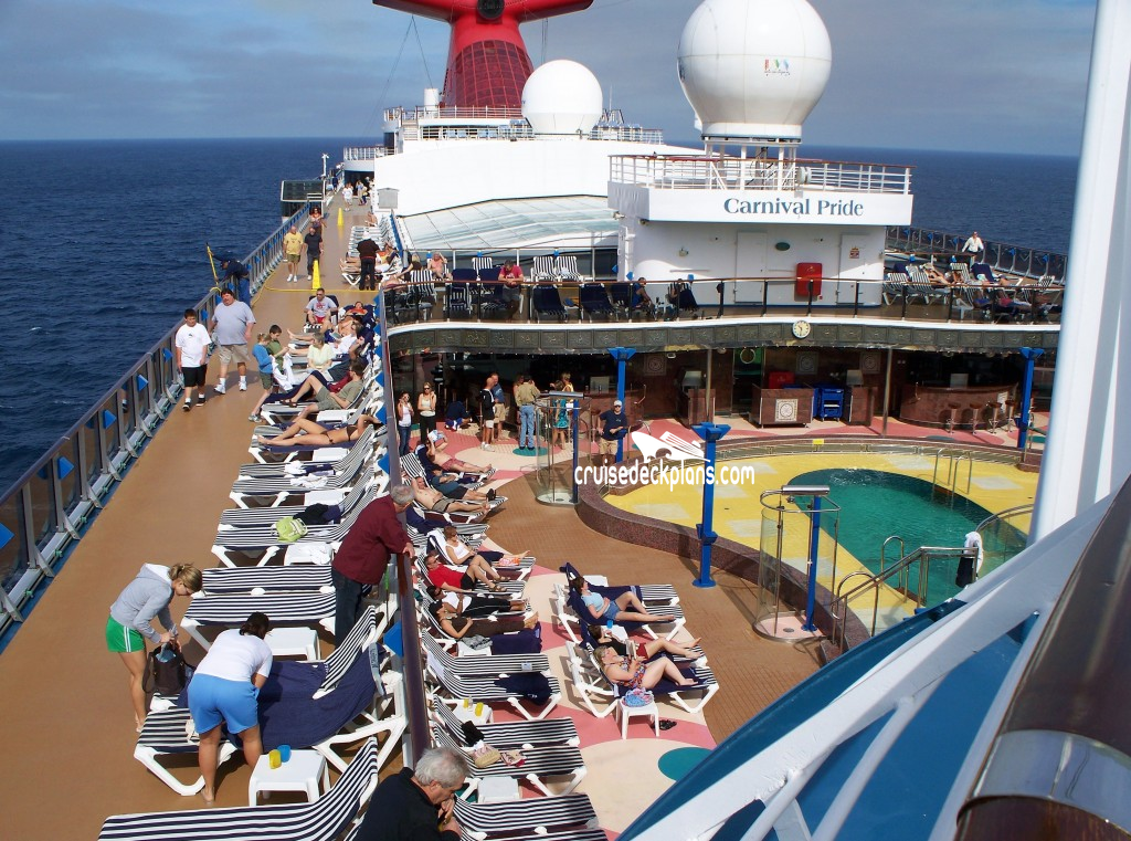 Carnival cruise celebration topless deck pictures — 8