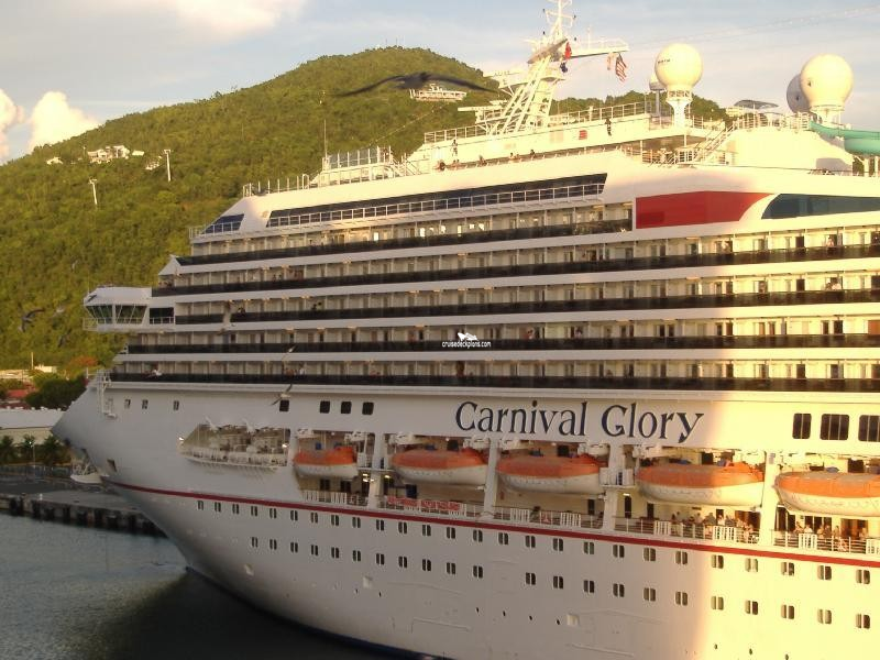 Carnival Cruise Ship Glory Deck Plans