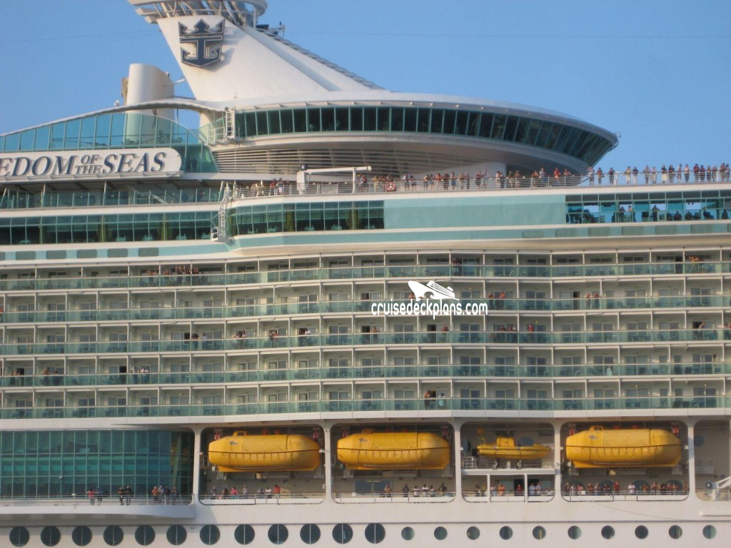 Freedom Of The Seas Deck 15 Deck Plan Tour