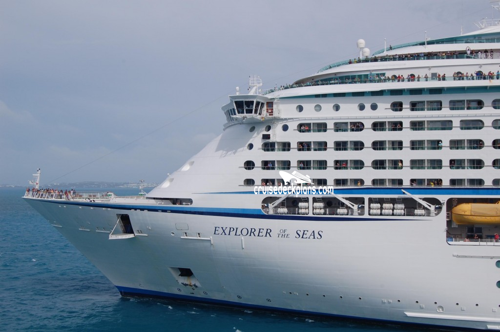 Explore The Beauty Of Caribbean: Explorer Of The Seas Deck 9 Deck Plan Tour