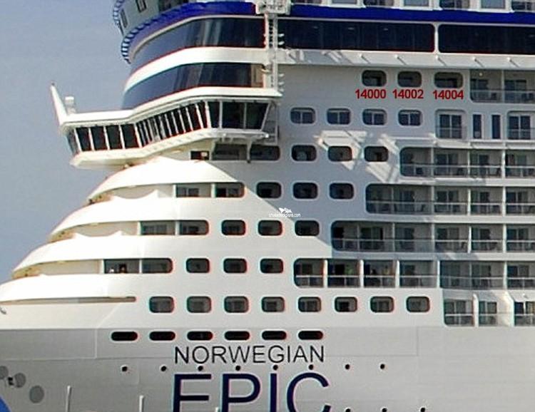 Norwegian Epic Deck 9 Deck Plan Tour