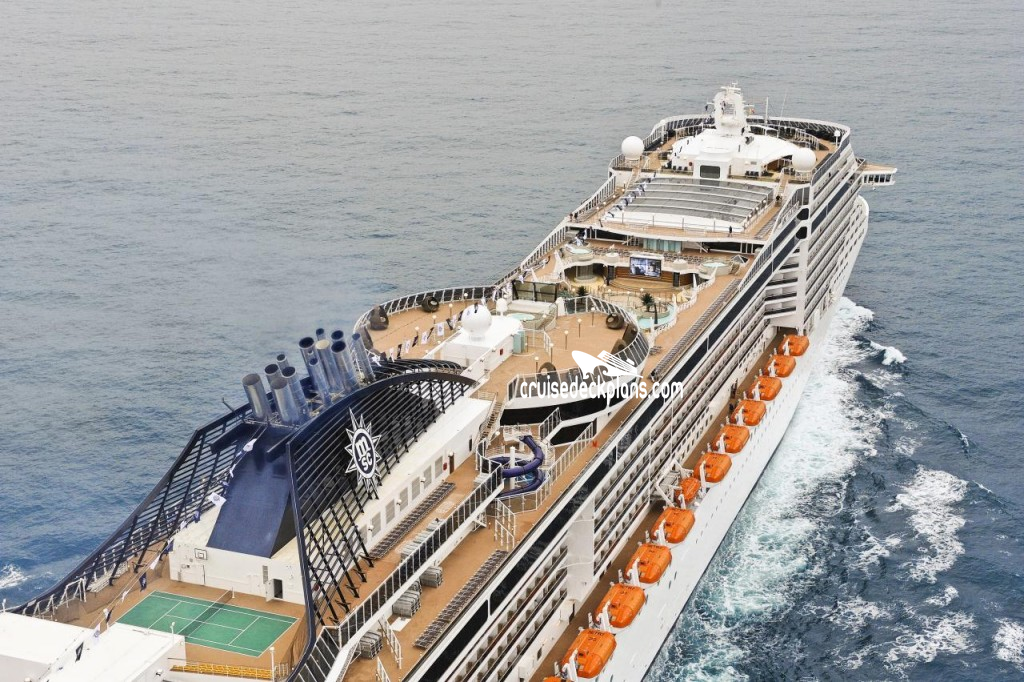 Msc fantasia deck plans diagrams pictures video for Deckplan msc splendida