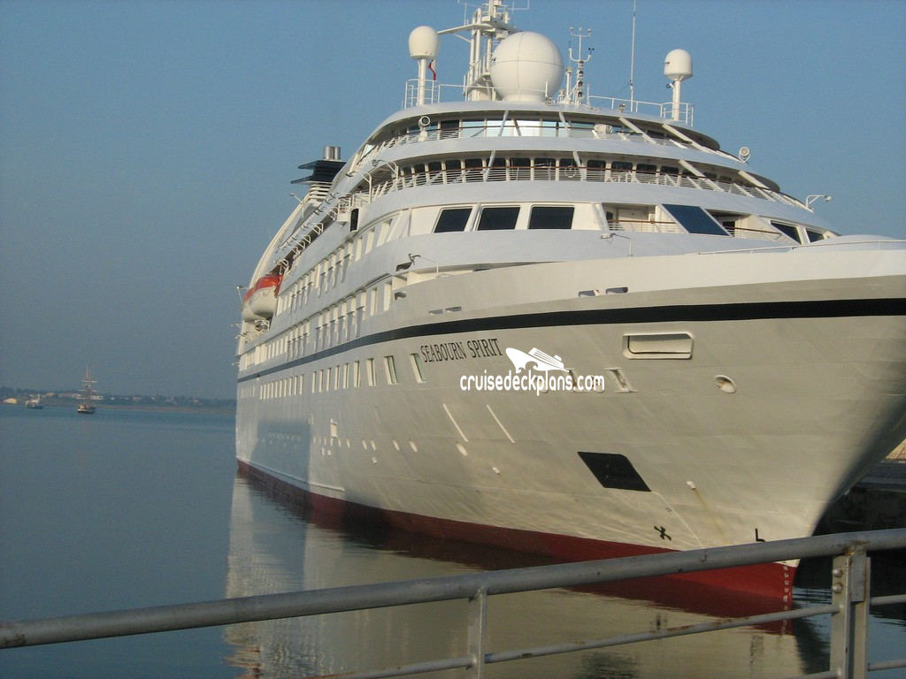 Seabourn spirit deck plans diagrams pictures video seabourn spirit exterior picture baanklon Images