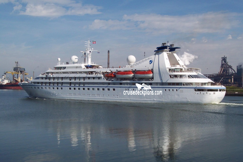 Seabourn Pride Deck Plans Diagrams Pictures Video
