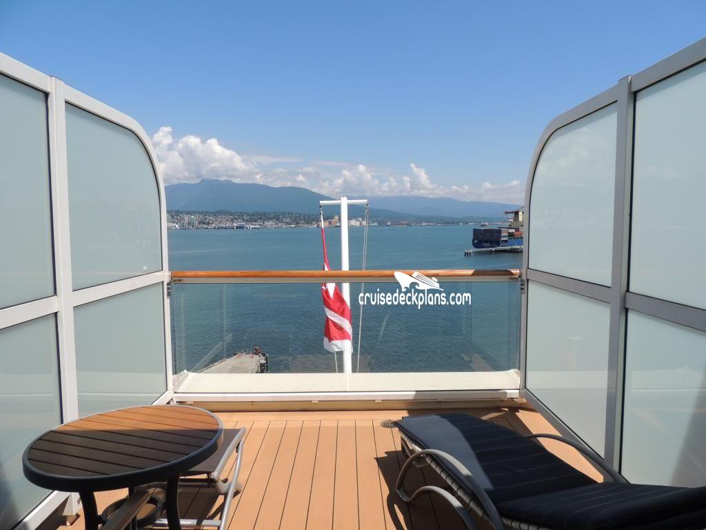 Celebrity Infinity Aqua Class A2 Balcony Cabin Walkthrough ...