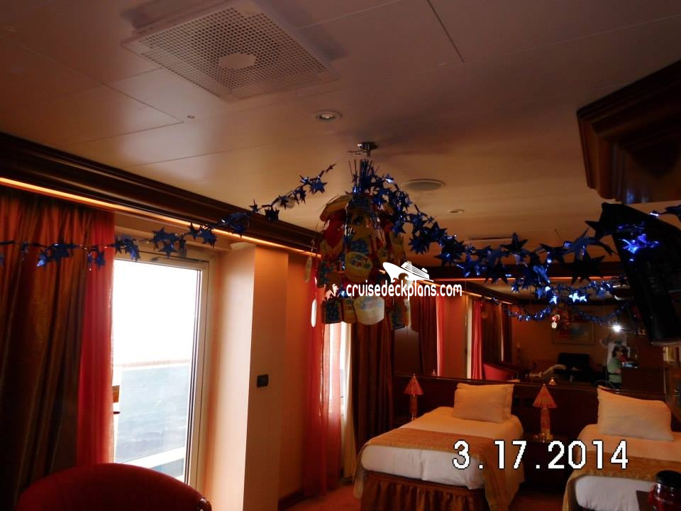 Carnival Glory Deck Plans, Diagrams, Pictures, Video