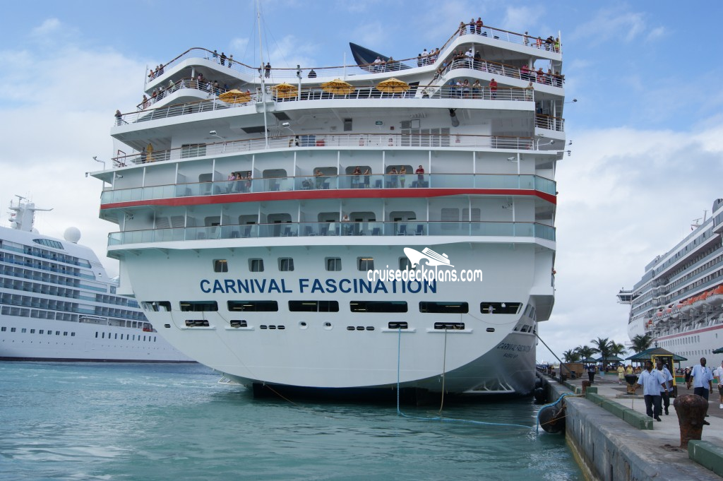 Carnival Fascination Riviera Deck Plan Tour