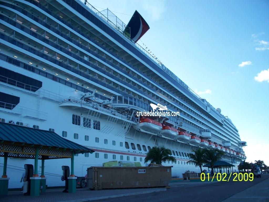 Carnival Dream Riviera Deck Plan Tour