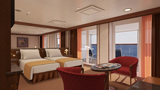 Carnival Spirit Grand Suite Category