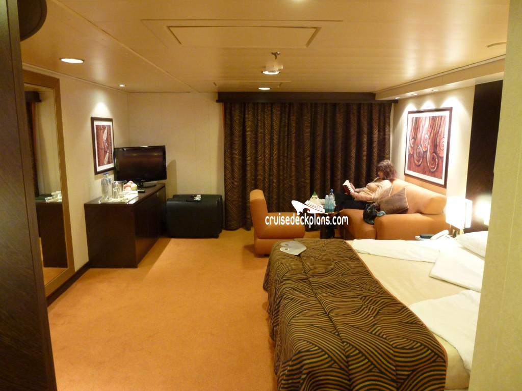MSC Splendida Balcony Suite Details