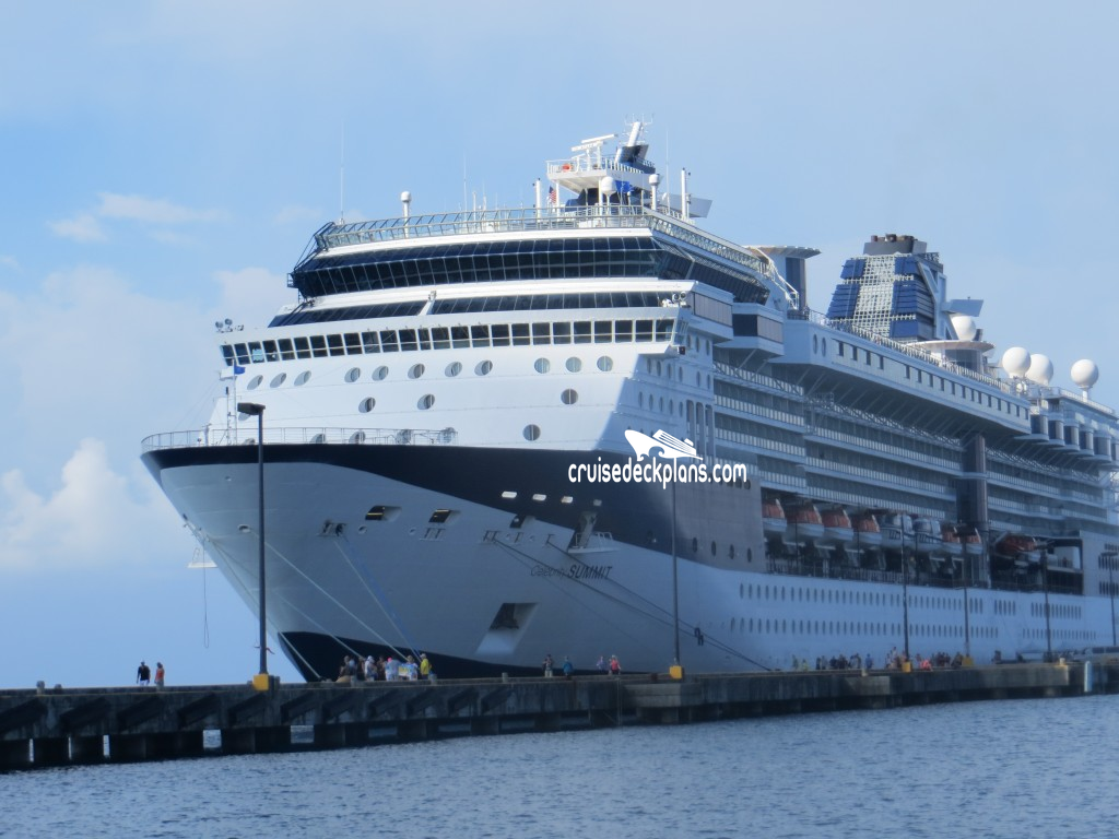 Celebrity Summit - Complete List of Staterooms and Suites ...