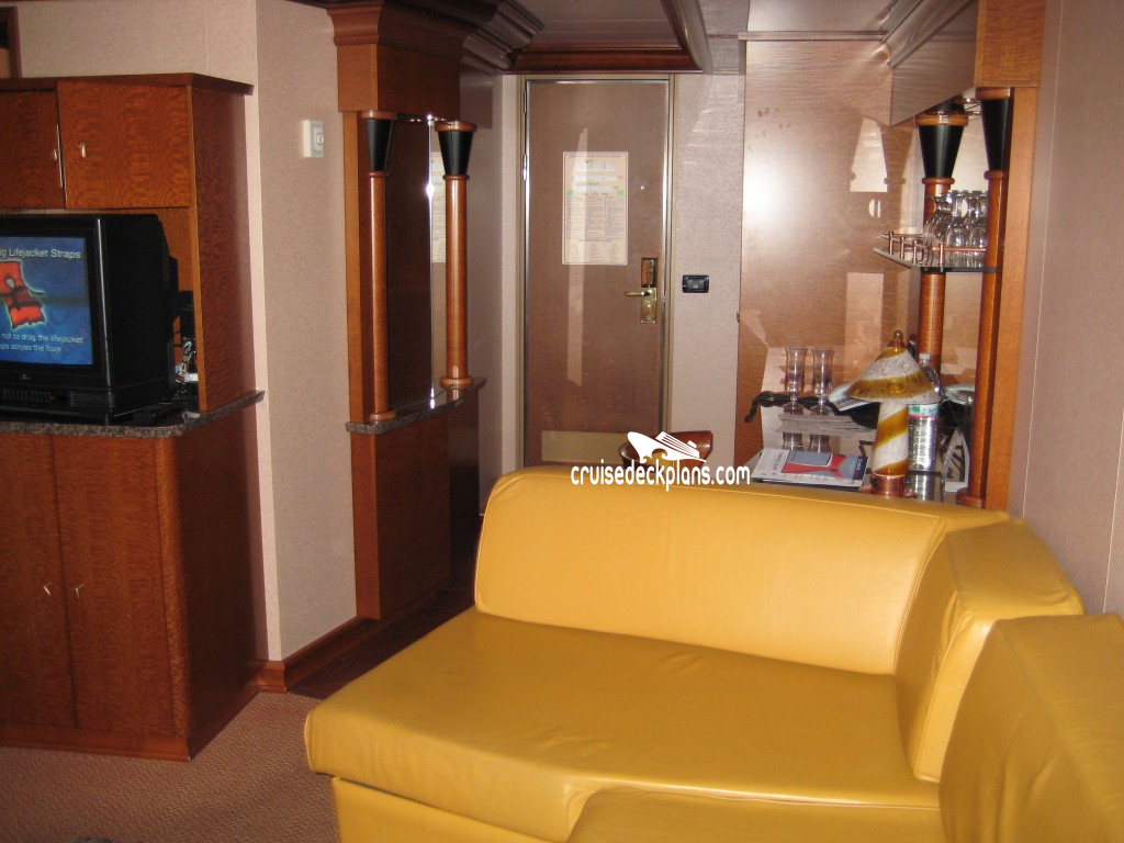 Carnival Glory Grand Suite Category