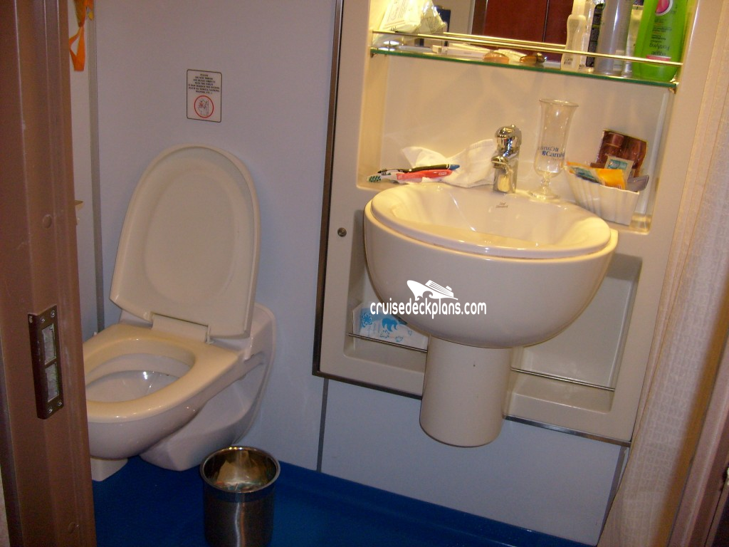 Carnival imagination small interior details for Toilet inspiration