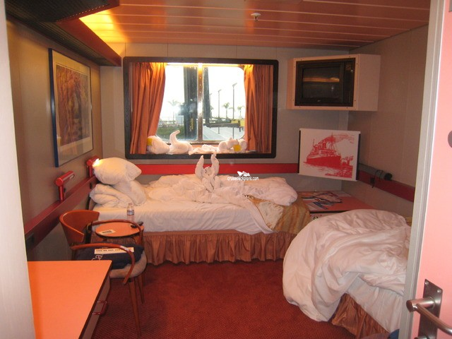 Carnival Paradise Oceanview Category