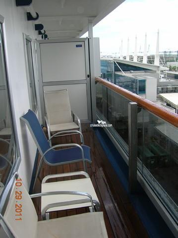 Carnival Conquest Class Balcony
