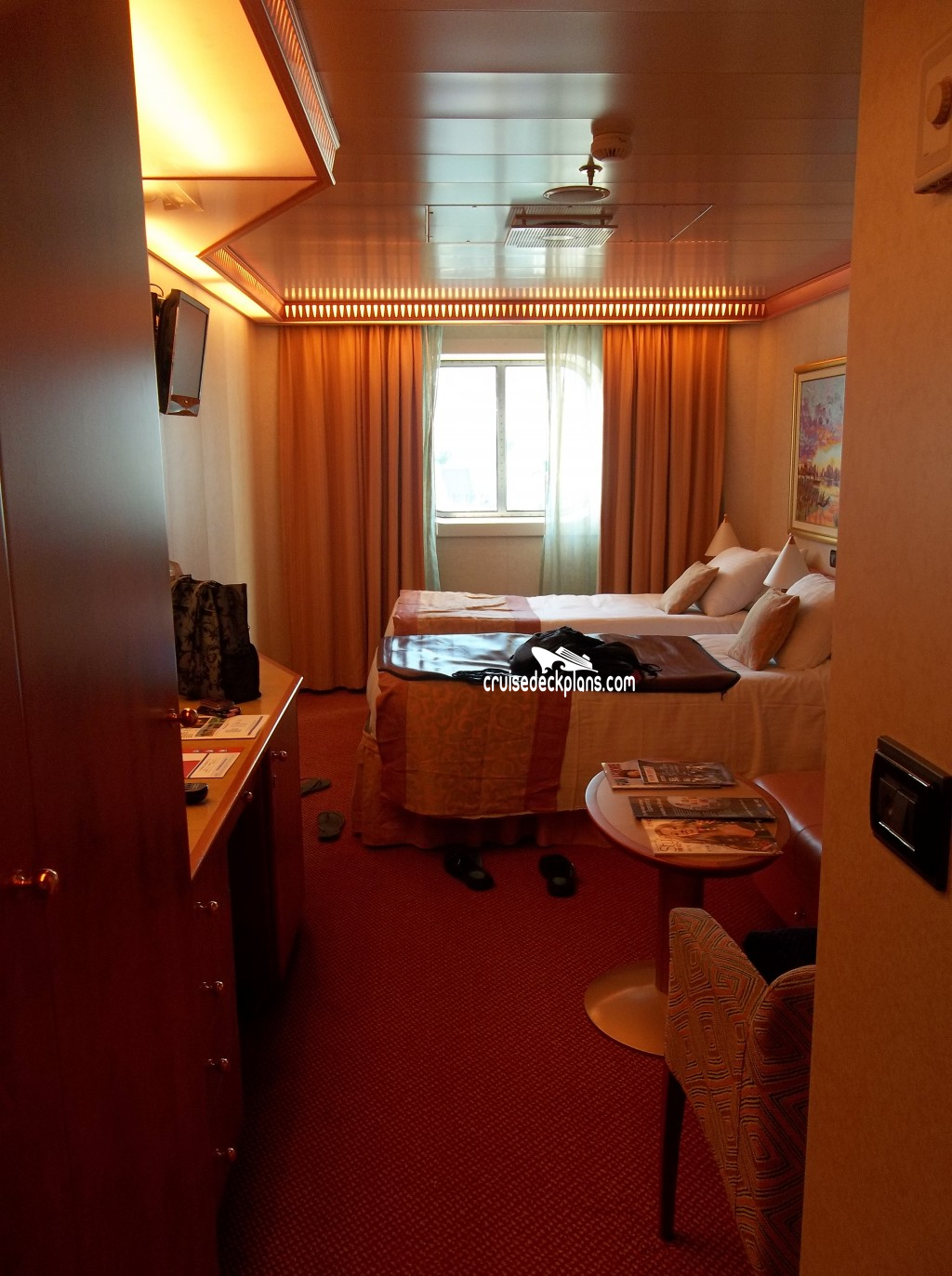 Carnival Splendor Oceanview Category