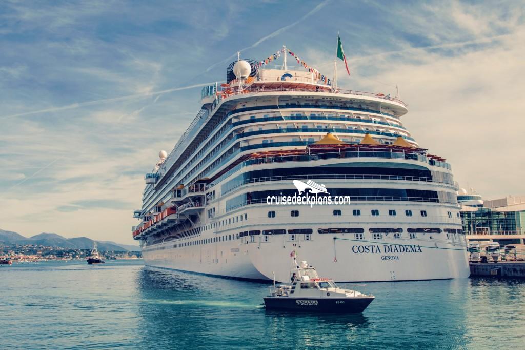 Costa Diadema Deck Plans Diagrams Pictures Video