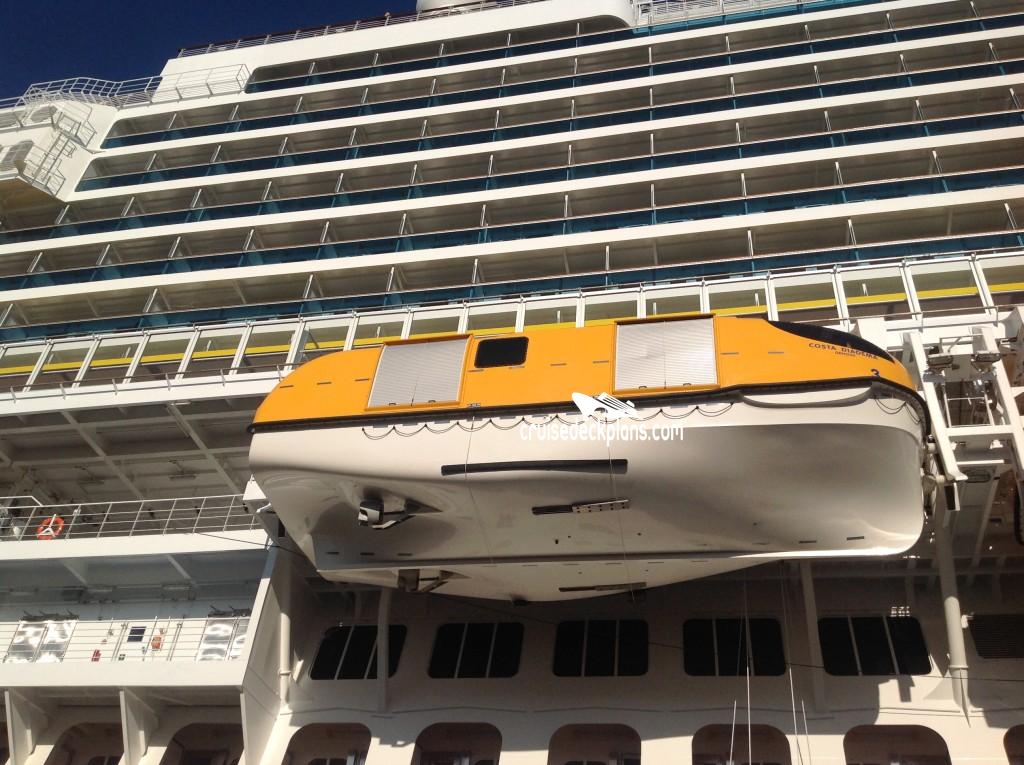 Costa diadema deck 2 deck plan tour for Deckplan costa diadema